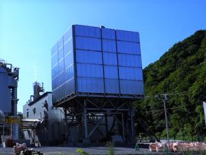 北海道北斗バイオマス発電所_復水器